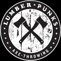 Lumber Punks Axe Throwing Logo